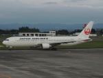 さゆりんごさんが、鹿児島空港で撮影した日本航空 767-346/ERの航空フォト(写真)