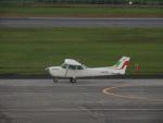 さゆりんごさんが、鹿児島空港で撮影した新日本航空 172P Skyhawkの航空フォト(写真)