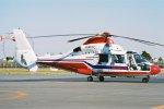 ゴンタさんが、東京ヘリポートで撮影した本田航空 SA365N Dauphin 2の航空フォト(写真)