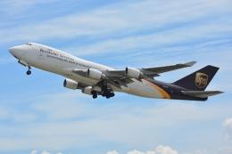 SKY☆101さんが、関西国際空港で撮影したUPS航空 747-44AF/SCDの航空フォト(写真)