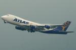 Double_Hさんが、香港国際空港で撮影したアトラス航空 747-48EF/SCDの航空フォト(写真)