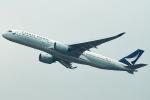 Double_Hさんが、香港国際空港で撮影したキャセイパシフィック航空 A350-941XWBの航空フォト(写真)
