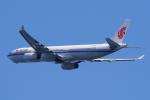yabyanさんが、関西国際空港で撮影した中国国際航空 A330-343Eの航空フォト(写真)