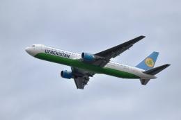 sonnyさんが、成田国際空港で撮影したウズベキスタン航空 767-33P/ERの航空フォト(写真)