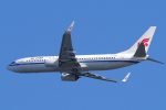 yabyanさんが、関西国際空港で撮影した中国国際航空 737-89Lの航空フォト(飛行機 写真・画像)