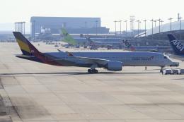 yabyanさんが、関西国際空港で撮影したアシアナ航空 A350-941の航空フォト(飛行機 写真・画像)