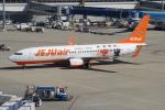 きんめいさんが、中部国際空港で撮影したチェジュ航空 737-8ASの航空フォト(写真)