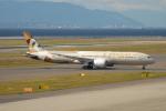 きんめいさんが、中部国際空港で撮影したエティハド航空 787-9の航空フォト(写真)