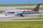 amagoさんが、関西国際空港で撮影したティーウェイ航空 737-86Nの航空フォト(写真)