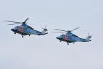 はっくさんが、立川飛行場で撮影した警視庁 AB139の航空フォト(写真)