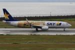 みるぽんたさんが、神戸空港で撮影したスカイマーク 737-86Nの航空フォト(写真)