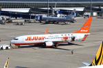 なごやんさんが、中部国際空港で撮影したチェジュ航空 737-8ASの航空フォト(写真)
