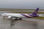 なごやんさんが、中部国際空港で撮影したタイ国際航空 777-3D7/ERの航空フォト(写真)