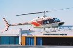 ゴンタさんが、東京ヘリポートで撮影したアカギヘリコプター 206B-3 JetRanger IIIの航空フォト(写真)
