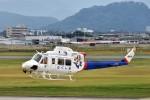 ヘリオスさんが、山形空港で撮影した福島県消防防災航空隊 412EPの航空フォト(写真)