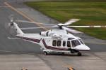 ヘリオスさんが、山形空港で撮影した岩手県防災航空隊 AW139の航空フォト(写真)