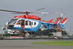harahara555さんが、東京臨海広域防災公園ヘリポートで撮影した川崎市消防航空隊 BK117C-2の航空フォト(写真)