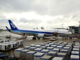 まいけるさんが、成田国際空港で撮影した全日空 767-381/ERの航空フォト(写真)