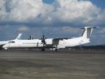 ピーノックさんが、鹿児島空港で撮影した日本エアコミューター DHC-8-402Q Dash 8の航空フォト(写真)