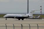 yabyanさんが、中部国際空港で撮影したウェルズ・ファーゴ・バンク・ノースウェスト BD-700-1A11 Global 5000の航空フォト(飛行機 写真・画像)