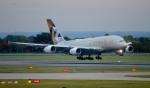 kamerajiijiさんが、ロンドン・ヒースロー空港で撮影したエティハド航空 A380-861の航空フォト(写真)