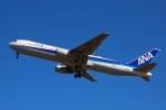 杉の裏さんが、宮古空港で撮影した全日空 767-381/ERの航空フォト(写真)
