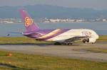 amagoさんが、関西国際空港で撮影したタイ国際航空 A380-841の航空フォト(写真)