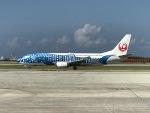 チャッピー・シミズさんが、那覇空港で撮影した日本トランスオーシャン航空 737-4Q3の航空フォト(写真)