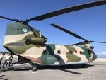 チャッピー・シミズさんが、那覇空港で撮影した航空自衛隊 CH-47J/LRの航空フォト(写真)