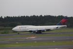 meijeanさんが、成田国際空港で撮影したデルタ航空 747-451の航空フォト(写真)