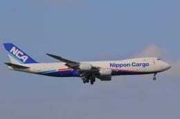 じゃりんこさんが、成田国際空港で撮影した日本貨物航空 747-8KZF/SCDの航空フォト(写真)