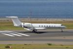 yabyanさんが、中部国際空港で撮影したウィルミントン・トラスト・カンパニー G500/G550 (G-V)の航空フォト(写真)