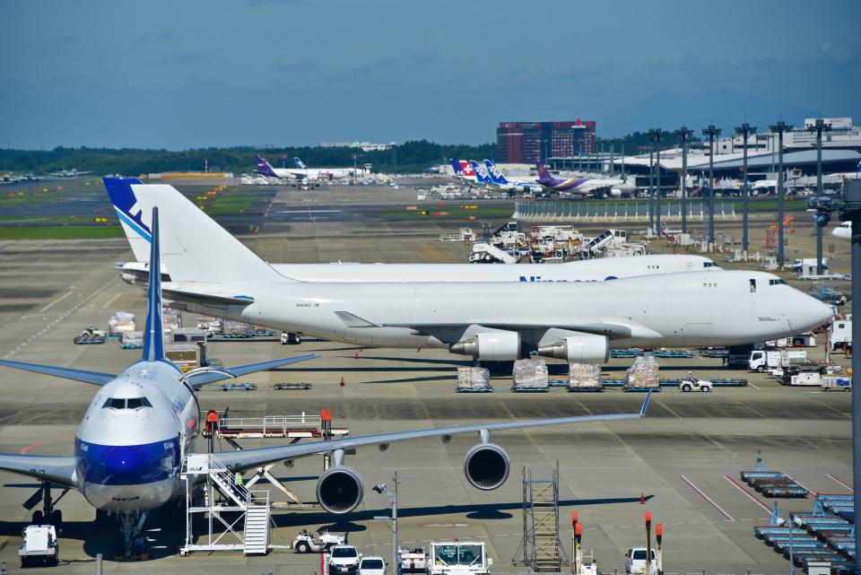 パンダさんのアトラス航空 Boeing 747-400 (N404KZ) 航空フォト