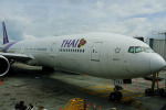 airhawk_oneさんが、オークランド空港で撮影したタイ国際航空 777-3D7/ERの航空フォト(写真)