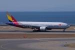 yabyanさんが、中部国際空港で撮影したアシアナ航空 777-28E/ERの航空フォト(飛行機 写真・画像)