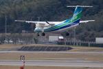 xxxxxzさんが、福岡空港で撮影したオリエンタルエアブリッジ DHC-8-201Q Dash 8の航空フォト(飛行機 写真・画像)