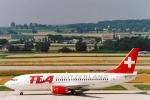 菊池 正人さんが、チューリッヒ空港で撮影したTEAスイス 737-3M8の航空フォト(写真)