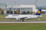 gomaさんが、ミュンヘン・フランツヨーゼフシュトラウス空港で撮影したルフトハンザドイツ航空 A319-114の航空フォト(写真)