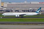 PASSENGERさんが、羽田空港で撮影したキャセイパシフィック航空 777-367/ERの航空フォト(写真)