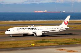 なごやんさんが、中部国際空港で撮影した日本航空 787-9の航空フォト(写真)