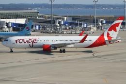 Wings Flapさんが、中部国際空港で撮影したエア・カナダ・ルージュ 767-333/ERの航空フォト(写真)