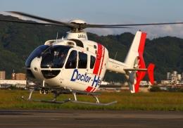 LOTUSさんが、八尾空港で撮影した学校法人ヒラタ学園 航空事業本部 EC135P2+の航空フォト(写真)