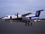 senbaさんが、大島空港で撮影したエアーニッポンネットワーク DHC-8-314Q Dash 8の航空フォト(写真)
