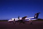senbaさんが、大島空港で撮影したANAウイングス DHC-8-314Q Dash 8の航空フォト(写真)