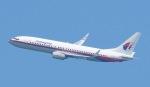 Seiiさんが、シンガポール・チャンギ国際空港で撮影したマレーシア航空 737-8FHの航空フォト(写真)