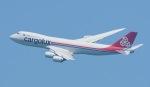 Seiiさんが、シンガポール・チャンギ国際空港で撮影したカーゴルクス 747-8R7F/SCDの航空フォト(写真)