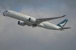 amagoさんが、香港国際空港で撮影したキャセイパシフィック航空 A350-941XWBの航空フォト(写真)