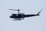 チャッピー・シミズさんが、ロングビーチ空港で撮影したORANGE COUNTY SHERIFFS DEPT COSTA MESA , CA, US UH-1Hの航空フォト(写真)