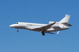 LAX Spotterさんが、ロサンゼルス国際空港で撮影した民間企業 Falcon 7Xの航空フォト(写真)