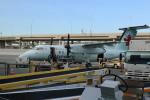 ババックンさんが、トロント・ピアソン国際空港で撮影したエア・カナダ ジャズ DHC-8-102 Dash 8の航空フォト(写真)